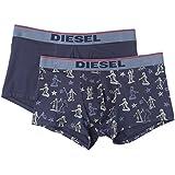 Diesel 00S9DZ 0GAKQ UMBX-SHAWNTWOPACK - Boxers Pack 2 - Homme