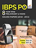 IBPS PO 8 Year-wise Preliminary & Mains Solved Papers (2011-18)