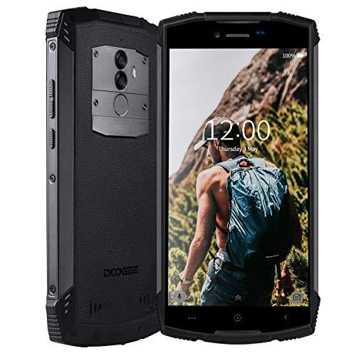 4G Smartphone Pas Cher Résistant Etanche Antichoc, DOOGEE S55 Lite téléphone Portable débloqué extérieur incassable imperméable poussière 2+16Go Mobile Android 8,1 5,5 Pouces, IP68 GPS Compas Dual SIM