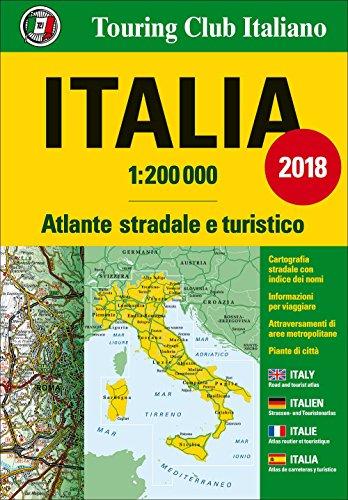 Atlante stradale Italia 1:200.000. Ediz. multilingue