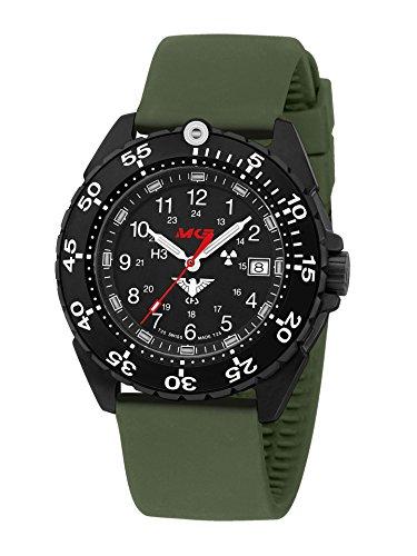 KHS Reloj Hombre Enforcer Black Steel KHS.ENFBS.SO