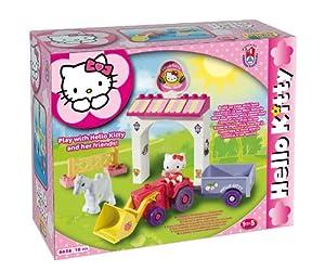 Androni Giocattoli - Juego de construcción para niños Hello Kitty de 18 Piezas s.r.l. 108658HK
