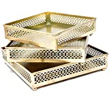 Diwali Festival Products Home Decorative Colored Set Of 3 Iron Tray For Home And Garden Decor, Decoration