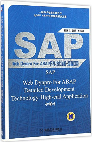 SAP Web Dynpro For ABAP开发技术详解:高端应用