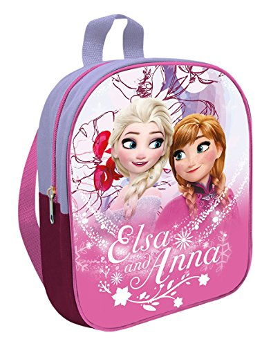 Kids Frozen Mochila Guardería, Color Rosa