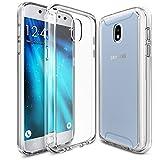ykooe Handyhülle für Samsung Galaxy J5 2017 Hülle, Transparent Silikon Schutzhülle für Samsung J5 DUOS Case Crystal Clear Durchsichtige TPU Bumper Galaxy J5 2017 (5,2 Zoll) Transparent