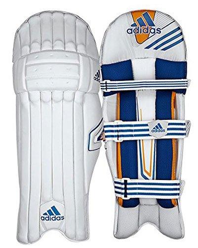 adidas Cricket CX11 Schlagen Polster - junior - Weiß, Right Hand Youths -
