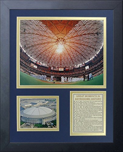 Legenden Sterben Nie Houston Astros NRG astrodome gerahmtes Foto Collage, 11von 35,6cm