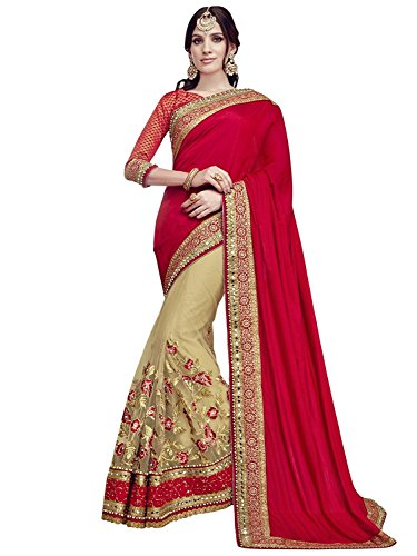Magneitta Women's Ethnic Wedding And Party Wear Heavy Hand Work Bridal Wear...