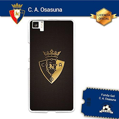 Funda Gel Flexible C.A. Osasuna para Bq Aquaris M5, Carcasa TPU, protege y se adapta a la perfección a tu Smartphone. Licencia oficial C.A. Osasuna - Escudo2