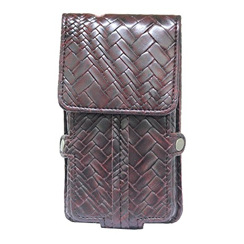 Jo Jo A6 Bali Series Leather Pouch Holster Case For Samsung Galaxy Star Pro Wine Red  available at amazon for Rs.590