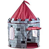 Vivo © Grey Knight Castle Pop Up Indoor / Outdoor Boy's Play Tent Playhouse Den Garden