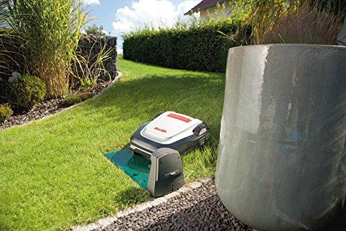 AL-KO Mähroboter Robolinho 110, besonders große 28 cm Schnittbreite, für Rasenflächen bis 700 m², Mäh- und Ladezeit ca. 45 min, Li-Ion Akku, 65 dB(A) leise, Steigfähigkeit 35 % - 5