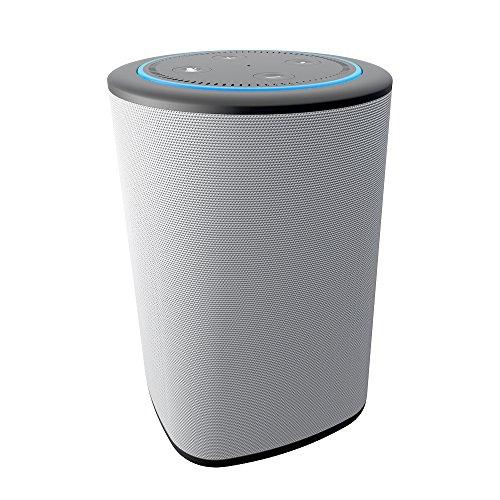 Ninety7 97-ASHVX-01 Vaux Cordless Home Lautsprecher und Portable Battery für Amazon Echo Dot (2G) Grau