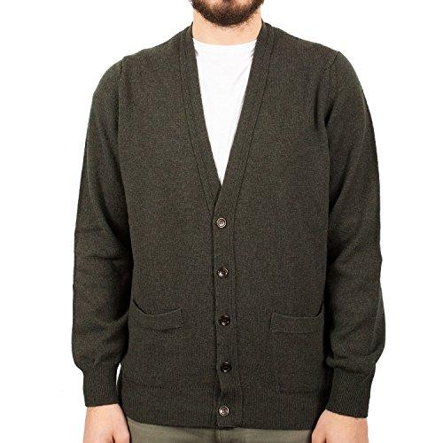Hawick Knitwear - Pull - Homme Seaweed