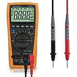 Multímetro Digital, Proster 3999 3 3/4 LCD Escala Automática Multi Medidor de Capacitancia con Resistencia DC / AC Voltaje de Corriente del Transistor del Diodo de Continuidad