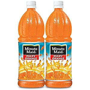Coca-Cola Minute Maid Pulpy Orange Family (Pack Of 2)
