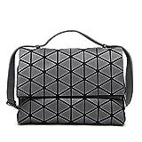 Mode-Stil Laser Tasche geometrische Falten über Diamant leuchtende Frauen Handtaschen Tasche 2