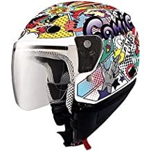 SHIRO - Casco Shiro SH-20 Comic Micra Kids II Talla YL 53/54