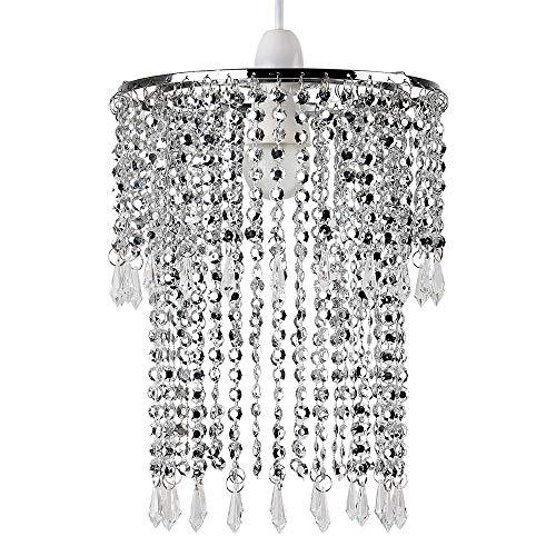 MiniSun - Pantalla lámpara techo moderna 'Glitter'