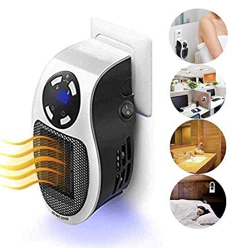 Calentador Electrico, Calefactor Baño, Mini Ventilador de Calefacción, Estufa Eléctrica Portatil...