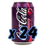 Coca Cola Cherry gusto ciliegia 330ml (24 lattine)