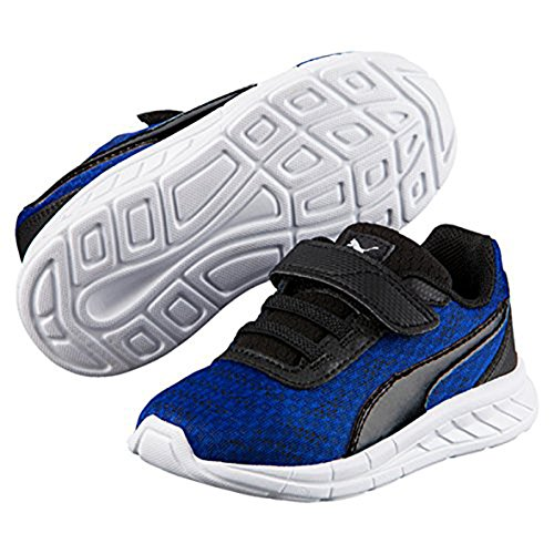 Puma - Running Junior Jr Kids Bimbo Meteor V PS True Blue-Puma Black True Blue