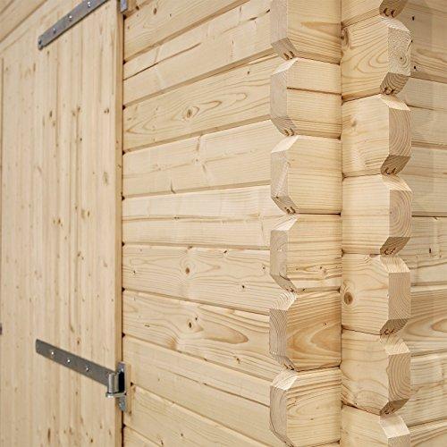 Waltons-42m-x-57m-Garage-Wooden-Log-Cabin-Double-Door-Garage-Workshop-By-Waltons