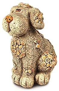 Premier Decorations ba15120330x 26x 40cm sitzend Hund Skulptur