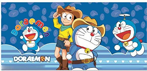 Cartoon Doraemon A Dream Boys Und Mädchen Kinderzimmer Tapete Animation Thema Raum Full House Hintergrund Tapete (H) 300 * (W) 210cm pro