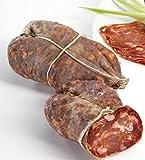 Soppressata Calabrese Piccante con Peperoncino di Calabria Stagionata 350 gr circa