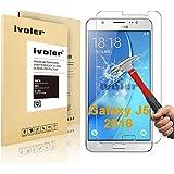 Samsung Galaxy J5 (2016) Protector de Pantalla, iVoler® Protector de Pantalla de Vidrio Templado Cristal Protector para Samsung Galaxy J5 (2016) - Dureza de Grado 9H, Espesor 0,20 mm, 2.5D Round Edge-[Ultra-trasparente] [Anti-golpe] [Ajuste Perfecto] [No hay Burbujas]- Garantía Incondicional de 18 Meses