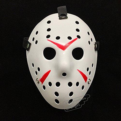 Betera(tm) venerd¨¬ vs jason maschera hockey cosplay costume di halloween di natale killer orrore maschera [bianco]