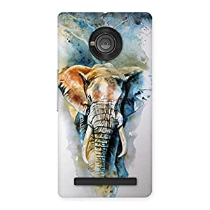 Special Elephant Art Back Case Cover for Yu Yunique