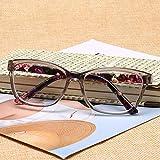 Yangjing-hl ShapedSunglasses Damenmode er Vintage Sun GlassesWomen Resin Anti Müdigkeit...