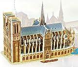 Eine Einzigartige Art von Puzzle Kreative Pädagogische 3D Puzzle Frühes Lernen Bau Spielzeug Fantastische Geschenke Für Kinder (Notre Dame Cathedral)