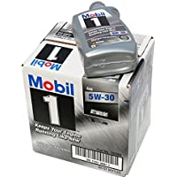 Mobil 1 94001 5W-30 Synthetic Motor Oil - 1 Quart (Pack of 6) by Mobil 1