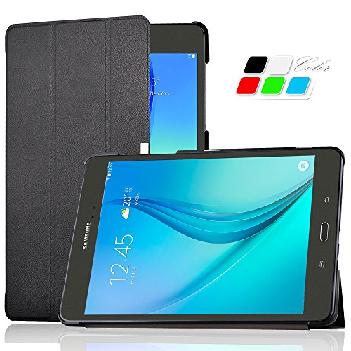 Preisvergleich Produktbild Samsung Galaxy tab A 9.7 hülle Schutzhülle, IVSO hochwertiges PU Leder Etui - mit Standfunktion und automatischem Schlaf Funktion, super 360° Anti-Wrestling, ist für Samsung Galaxy Tab A T550N/T555N 24,6 cm (9,7 Zoll) WiFi Tablet-PC perfekt geeignet.