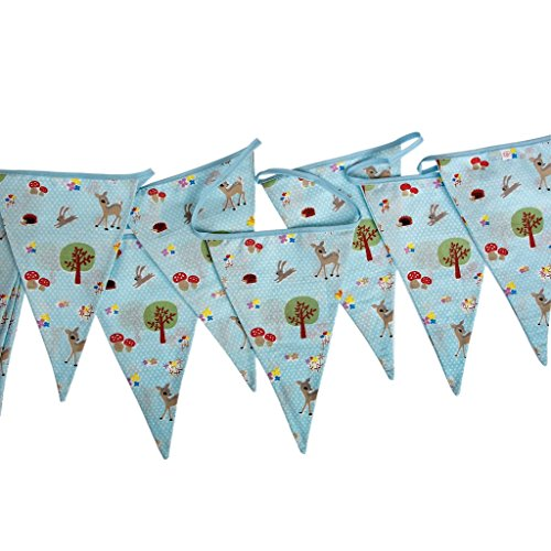 woodland-animals-design-cotton-party-bunting