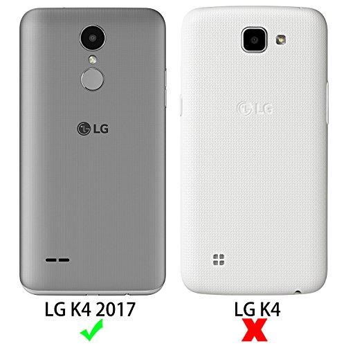 confronta il prezzo SLEO Custodia LG K4 2017, [Premium Portafoglio Protettiva] Wallet Cover LG K4 2017, 2-Scheda Slot, [PU pelle] Morbido Impermeabile Antipolvere Protezione, LG K4 2017 Cover, LG K4 2017 Custodia - Nero miglior prezzo