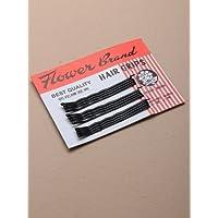 Card of 12 Black Kirby Grips. 4.5cm by kirby grips preisvergleich bei billige-tabletten.eu