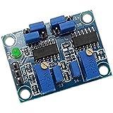 haoyishang FR-4Generador de señal módulo ciclo tiempo onda cuadrada generador de señales potente 555retraso Generador de señal de onda