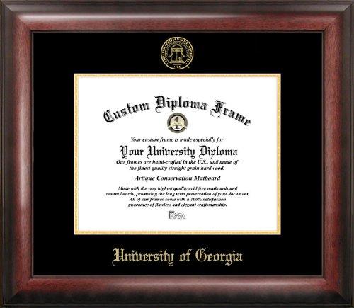 Campus Images CAMPUS Bilder University of Georgia geprägt Diplom Rahmen, 30,5x 38,1cm Gold