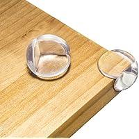 Hochwertige SchutzEcken Kantenschoner f/ür Ecke Tisch M/öbel 8er Set Baby Kantenschutz Eckenschutz aus gepr/üftem PVC