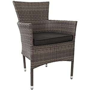 poly rattan gartensessel stapelstuhl gartenstuhl rattanstuhl rattansessel rattanst hle stapelbar. Black Bedroom Furniture Sets. Home Design Ideas