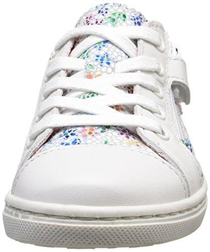 Aster Romane, Baskets Basses fille Blanc (Blanc Fleur)