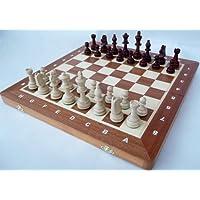 ChessEbook-Turnier-Schachspiel-Staunton-Nr-4A-42-x-42-cm-Holz