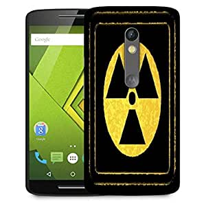 Snoogg radioactivity Designer Protective Back Case Cover For Motorola Moto G4