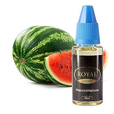E-Liquid Wassermelone ohne Nikotin für E-Zigarette 12ml Inhalt von Royal Liquids