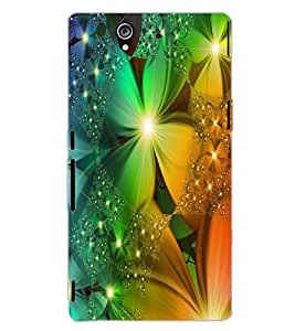 SONY XPERIA Z FLOWERS Back Cover by PRINTSWAG
